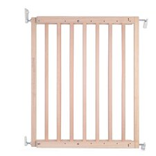 Chunky Wooden Screw Fit Stair Safety Gate
