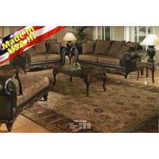 Oswego Traditional Sofa and Loveseat Set