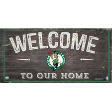 NBA Welcome Sign Wall Décor