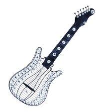 Metal and Acrylic Guitar Wall Décor