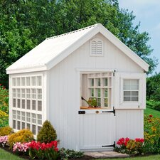 Colonial Gable 10 Ft. W x 16 Ft. D Greenhouse