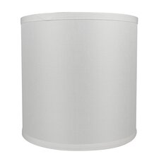 "Classic Smooth 10"" Linen Drum Lamp Shade"