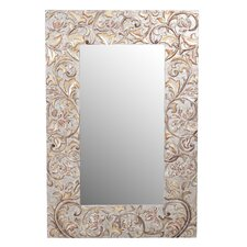 Carved Accent Mirror
