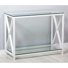 Tempered Console Table