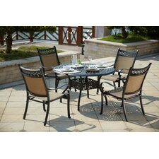 Mountain View 5 Piece Dining Set by Darlee