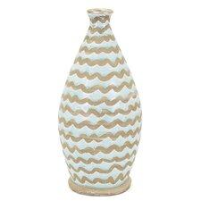 Medium Brown/Blue Table Vase