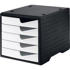 Schubladenbox Swingbox mit 5 Schubladen