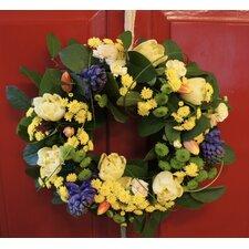 Fresh Flower 40cm Scented Spring Wreath