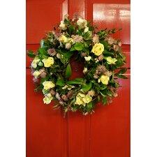 Natural 40cm Fresh Flower Wreath