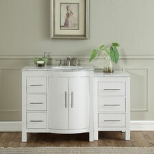 Kimberly 54 Single Bathroom Vanity Set by Silkroad Exclusive