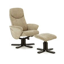 Linwood Recliner and Footstool