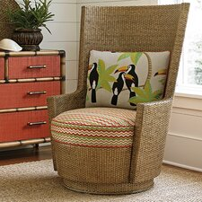 Twin Palms Lago Mar Swivel Armchair by Tommy Bahama Home
