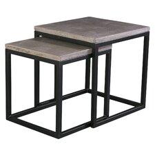 Marpain 2 Piece Nesting Table Set