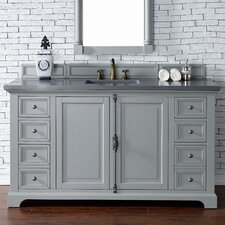 Providence 60 Single Urban Gray Bathroom Vanity Set by James Martin Furniture