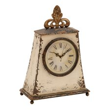 """12"""" Traditional Iron Table Clock"""