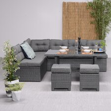 Coral 9 Seater Dining Set with Cushions