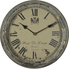 "Iron 14"" Wall Clock"
