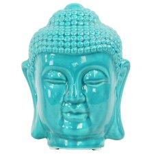 Buddha Head with Rounded Ushnisha Bust
