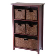 Lavallie 5 Drawers Storage Shelf by Three Posts