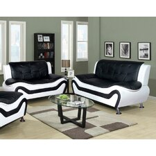 Algarve Leather Sofa and Loveseat Set  by Latitude Run