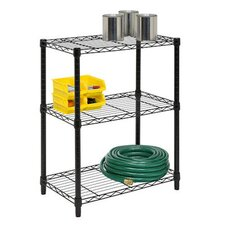 76cm H 3 Shelf Shelving Unit Starter