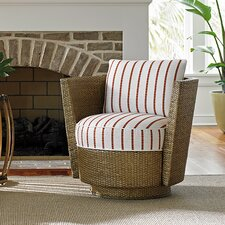 Twin Palms Tarpon Bay Swivel Barrel Chair by Tommy Bahama Home