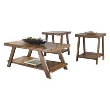 Carlos 3 Piece Coffee Table Set