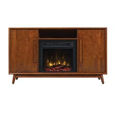 "Silvia 54"" TV Stand with Electric Fireplace"
