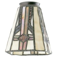 """4.75"""" Glass Empire Wall Sconce Shade (Set of 2)"""