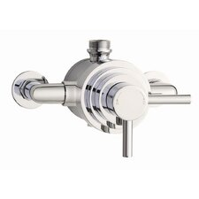 Twin Exposed Shower Valve