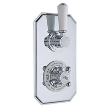 Topaz Twin Concealed Thermostatic Shower Valve