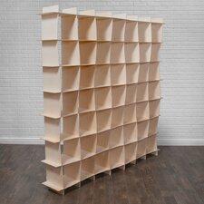 """Gridlock 79"""" Cube Unit Bookcase"""