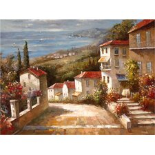 Home in Tuscany' Framed on Canvas