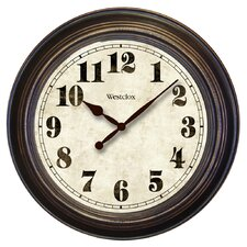 "Round Oversized 24"" Wall Clock"