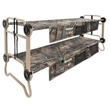 Large Cam-O-Bunk with RealTree Extra with 2 Side Organizers