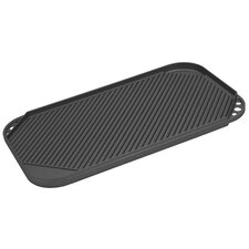 """Pro Cast Traditions 19"""" x 11"""" Nonstick Reversible Grill Pan and Griddle"""