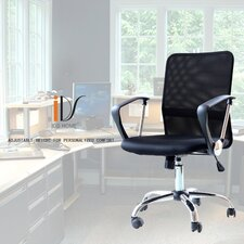 Ergonomic Adjustable Mid-Back Mesh Desk Chair
