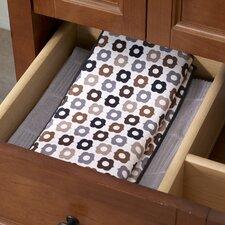Bulb Reversible Print Dish Drying Mat (Set of 2)