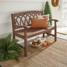 Brook Hollow Wooden Garden Bench