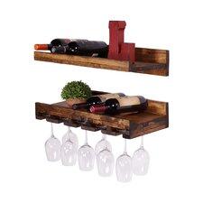 Tristen Rustic Tristen Shelf (Set of 2)