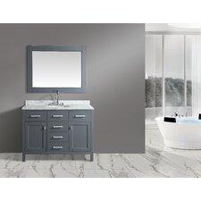 London Stanmark 48 Single Bathroom Vanity Set with Mirror by dCOR design