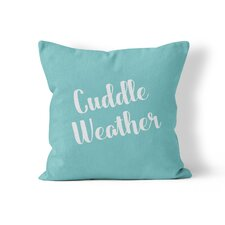 Cuddle Weather Throw Pillow
