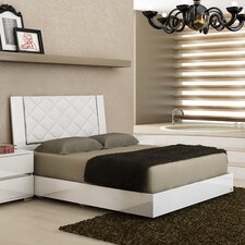 Diamanti Upholstered Panel Bed