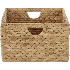 Wayfair Basics Woven Hyacinth Storage Basket Set (Set of 2)