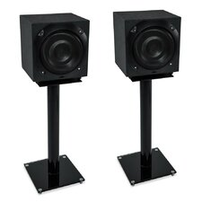 "25"" Fixed Height Speaker Stand (Set of 2)"