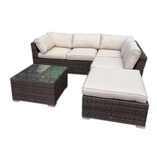 Maddie Corner Sectional Piece with Cushions