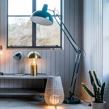 Kings Road 170cm Swing Arm Floor Lamp