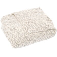 Barmeen Chevron Egyptian Quality Cotton Blanket