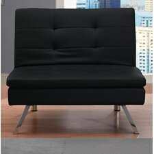 Johnathan Convertible Leather Chair