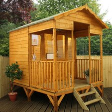 Premium Beach Hut 7.8 x 10.5 Ft. Summerhouse